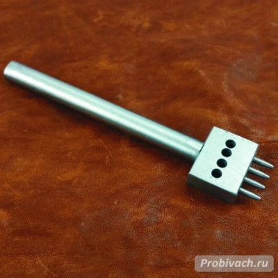 Пробойник строчный NN круглый 5 мм 4 зуба