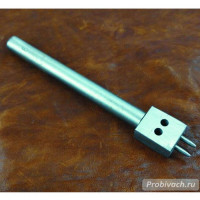 Пробойник строчный NN круглый 6 мм 2 зуба