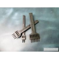Комплект строчных пробойников NN шаг 5 мм  2+4+6 круглых зубьев 1мм черные