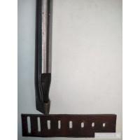 Овальный (щелевой, ременной) пробойник NN 16x3 мм неполированный