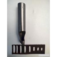 Овальный (щелевой, ременной) пробойник NN 25x5 мм неполированный