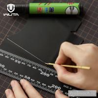 Стержень с серебристыми чернилами Wuta + стирающий маркер для разметки