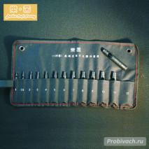 Комплект высечных круглых пробойников LeatherCraft 1-12 мм