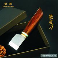 Шорный нож LeatherCraft прямой 36 мм