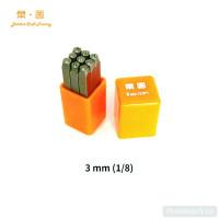 Набор штампов LeatherCraft цифры (0-8) 3 мм