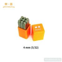 Набор штампов LeatherCraft цифры (0-8) 4 мм