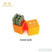 Набор штампов LeatherCraft цифры (0-8) 6 мм