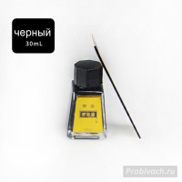 Краска для уреза Leathercraft 30 ml цвет Black