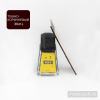 Краска для уреза Leathercraft 30 ml цвет Black Brown