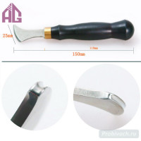 Кризер Aige 2.5 мм ручка эбеновое дерево