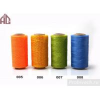 Нить Aige вощеная плетеная плоская 1,0 мм 008