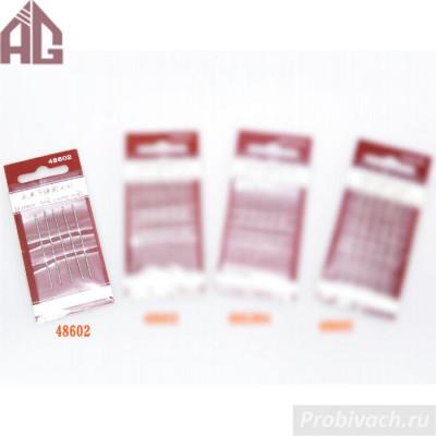 Набор игл Aige 48602 48х1,0 мм 5 шт