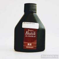 Краска Seiwa для кожи Roapas Batik Япония 100 ml цвет темно-коричневый