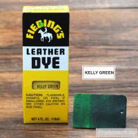 Краска для кожи Fiebings Leather Dye 118 ml цвет Kelly Green
