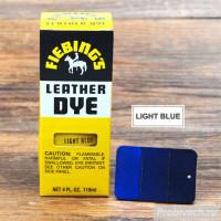 Краска для кожи Fiebings Leather Dye 118 ml цвет Light Blue