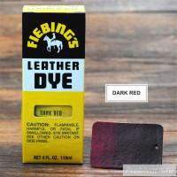 Краска для кожи Fiebings Leather Dye 118 ml цвет Dark Red