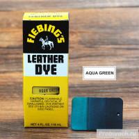 Краска для кожи Fiebings Leather Dye 118 ml цвет Aqua Green